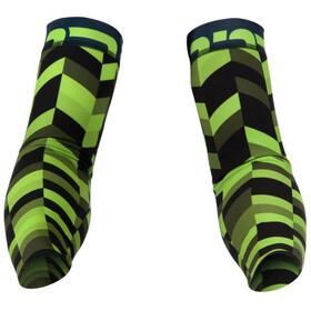 Bioracer Subli Fishbone Armwarmers green